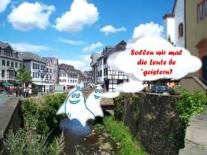 Bad Münstereifel mit Geistern