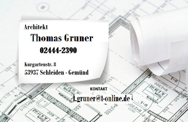 Grunder Thomas Architekt  Bild Pläne