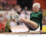 87jährige Wettkampfturnerin