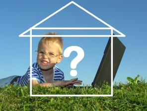 Tobias sucht mit seinem Papa und seiner Mama ein Einfamilienhaus im Raum Bonn